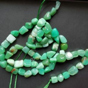 Shop Chrysoprase Chip & Nugget Beads! Natural Chrysoprase Pebble Beads,small nugget beads,Green stone nugget chips,5-7mm | Natural genuine chip Chrysoprase beads for beading and jewelry making.  #jewelry #beads #beadedjewelry #diyjewelry #jewelrymaking #beadstore #beading #affiliate #ad