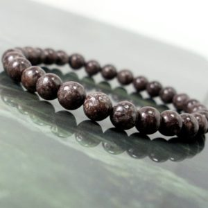 Shop Obsidian Bracelets! Tibetan Obsidian Bracelet 6 mm,Natural Gemstone Bracelet,Unisex Women Men Bracelet, Beaded Bracelet | Natural genuine Obsidian bracelets. Buy crystal jewelry, handmade handcrafted artisan jewelry for women.  Unique handmade gift ideas. #jewelry #beadedbracelets #beadedjewelry #gift #shopping #handmadejewelry #fashion #style #product #bracelets #affiliate #ad