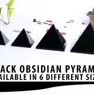 Shop Obsidian Shapes! Black Obsidian Crystal Pyramid, Healing Crystals, Reiki Healing | Natural genuine stones & crystals in various shapes & sizes. Buy raw cut, tumbled, or polished gemstones for making jewelry or crystal healing energy vibration raising reiki stones. #crystals #gemstones #crystalhealing #crystalsandgemstones #energyhealing #affiliate #ad