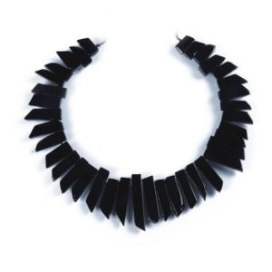 Shop Onyx Bead Shapes! Natural Onyx Beads,Tower Shape Beads,Popular Natural Black Beads,Good Quality Beads,Top Drilled Beads.Gemstone Beads Wholesale. | Natural genuine other-shape Onyx beads for beading and jewelry making.  #jewelry #beads #beadedjewelry #diyjewelry #jewelrymaking #beadstore #beading #affiliate #ad