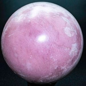 """Shop Opal Stones & Crystals! Rare Peruvian Pink Opal Sphere  .3.9""""  Diameter weighs 2.96 Pounds 