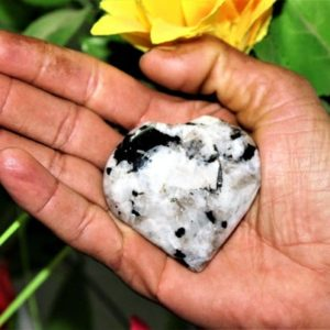 Shop Rainbow Moonstone Shapes! Natural Rainbow Moonstone Mini Puffy Heart 60MM Healing Power Meditation Love | Natural genuine stones & crystals in various shapes & sizes. Buy raw cut, tumbled, or polished gemstones for making jewelry or crystal healing energy vibration raising reiki stones. #crystals #gemstones #crystalhealing #crystalsandgemstones #energyhealing #affiliate #ad