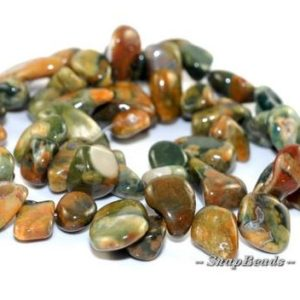 Shop Rainforest Jasper Beads! Kambaba Rhyolite Gemstones River Pebble Slice 15X10MM Loose Beads 7.5 inch Half Strand (90108537-106) | Natural genuine chip Rainforest Jasper beads for beading and jewelry making.  #jewelry #beads #beadedjewelry #diyjewelry #jewelrymaking #beadstore #beading #affiliate #ad