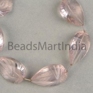 Shop Rose Quartz Faceted Beads! Rose Quartz Faceted Concave Cut Pear Shape Beads, Rose Quartz Beads, Faceted Rose Quartz Beads, Pear Shape Rose Quartz Beads | Natural genuine faceted Rose Quartz beads for beading and jewelry making.  #jewelry #beads #beadedjewelry #diyjewelry #jewelrymaking #beadstore #beading #affiliate #ad