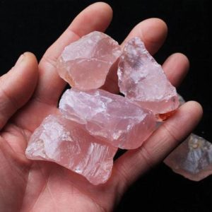 Shop Raw & Rough Rose Quartz Stones! Raw Rose Quartz, Rough Rose Quartz, Healing Crystals and Stones, Reiki Healing, Love Stone, Raw Stone, Raw Crystals, Heart Chakra | Natural genuine stones & crystals in various shapes & sizes. Buy raw cut, tumbled, or polished gemstones for making jewelry or crystal healing energy vibration raising reiki stones. #crystals #gemstones #crystalhealing #crystalsandgemstones #energyhealing #affiliate #ad