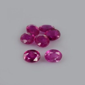 Shop Ruby Shapes! 1.65 cts Natural Red Mozambique Ruby 4×3 mm Faceted Oval 7 Pieces Loose Gemstone – 100% Natural Ruby Gemstone , Ruby Gemstone -RURED-1179 | Natural genuine stones & crystals in various shapes & sizes. Buy raw cut, tumbled, or polished gemstones for making jewelry or crystal healing energy vibration raising reiki stones. #crystals #gemstones #crystalhealing #crystalsandgemstones #energyhealing #affiliate #ad