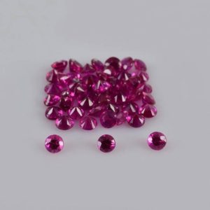 Shop Ruby Shapes! 2x2x1.5 mm Natural Burmese Ruby Faceted Cut Round AAA+ Grade Precious Loose Gemstone – 100% Natural Ruby Gemstone – RURED-1148 | Natural genuine stones & crystals in various shapes & sizes. Buy raw cut, tumbled, or polished gemstones for making jewelry or crystal healing energy vibration raising reiki stones. #crystals #gemstones #crystalhealing #crystalsandgemstones #energyhealing #affiliate #ad