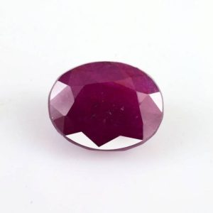 Shop Ruby Shapes! 5.21 cts Natural Indian Ruby 11×8.7×5.4 Faceted Cut Oval 1 PC Loose Gemstone , 100% Natural Ruby Gemstones , Ruby Jewelry – RURED-1200 | Natural genuine stones & crystals in various shapes & sizes. Buy raw cut, tumbled, or polished gemstones for making jewelry or crystal healing energy vibration raising reiki stones. #crystals #gemstones #crystalhealing #crystalsandgemstones #energyhealing #affiliate #ad