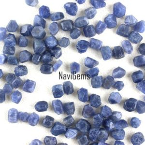 AAA Quality 10 Pieces Natural Blue Sapphire ,Sapphire Rough Gemstone,Making Jewelry,4-5 MM Approx,Sapphire,Loose Gemstone,Wholesale Price | Natural genuine chip Sapphire beads for beading and jewelry making.  #jewelry #beads #beadedjewelry #diyjewelry #jewelrymaking #beadstore #beading #affiliate #ad
