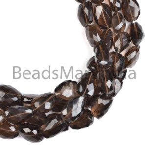 Shop Smoky Quartz Chip & Nugget Beads! Smoky Quartz Faceted Nuggets Shape Natural Beads, Natural Gemstone Beads, Faceted Smoky Quartz Beads, Nuggets Shape Smoky Quartz Beads | Natural genuine chip Smoky Quartz beads for beading and jewelry making.  #jewelry #beads #beadedjewelry #diyjewelry #jewelrymaking #beadstore #beading #affiliate #ad