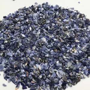 Shop Sodalite Chip & Nugget Beads! Sodolite Chips 2.5 to 4.5mm 50 grams/Sodolite/Chips/Stone Beads/Semiprecious Beads/Rare Beads/Gemstone beads/Loose Beads/Chips Beads/Beads . | Natural genuine chip Sodalite beads for beading and jewelry making.  #jewelry #beads #beadedjewelry #diyjewelry #jewelrymaking #beadstore #beading #affiliate #ad