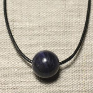 Shop Sodalite Pendants! Necklace pendant gemstone – Sodalite ball 14mm | Natural genuine Sodalite pendants. Buy crystal jewelry, handmade handcrafted artisan jewelry for women.  Unique handmade gift ideas. #jewelry #beadedpendants #beadedjewelry #gift #shopping #handmadejewelry #fashion #style #product #pendants #affiliate #ad