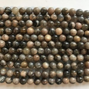 Shop Sunstone Round Beads! 10mm Smooth Round Sunstone Gemstone Beads -15 inch strand 1 strand/3 strands/10 strands | Natural genuine round Sunstone beads for beading and jewelry making.  #jewelry #beads #beadedjewelry #diyjewelry #jewelrymaking #beadstore #beading #affiliate #ad