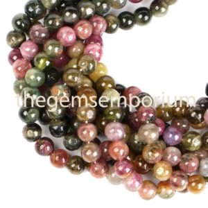 Shop Tourmaline Round Beads! Multi Tourmaline Plain Smooth Round Shape Beads, Tourmaline Round Beads, Tourmaline Smooth Beads, multi Tourmaline Beads, tourmaline Beads | Natural genuine round Tourmaline beads for beading and jewelry making.  #jewelry #beads #beadedjewelry #diyjewelry #jewelrymaking #beadstore #beading #affiliate #ad