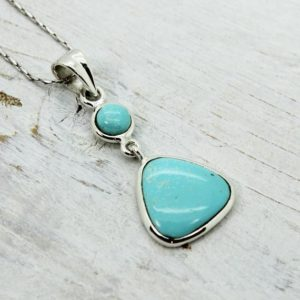 Shop Turquoise Pendants! Light blue Turquoise pendant set on 925 solid sterling silver turquoise jewelry natural turquoise stone unisex pendant for him | Natural genuine Turquoise pendants. Buy crystal jewelry, handmade handcrafted artisan jewelry for women.  Unique handmade gift ideas. #jewelry #beadedpendants #beadedjewelry #gift #shopping #handmadejewelry #fashion #style #product #pendants #affiliate #ad