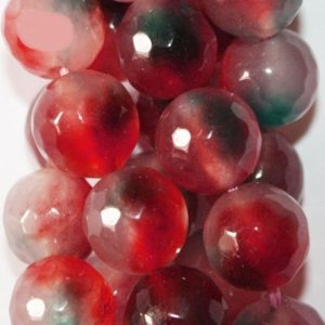 """Shop Agate Faceted Beads! Faceted Crackle Agate  Beads – Round 10 mm Gemstone Beads – Full Strand 15"""", 37 beads, item 13   Natural genuine faceted Agate beads for beading and jewelry making.  #jewelry #beads #beadedjewelry #diyjewelry #jewelrymaking #beadstore #beading #affiliate #ad"""