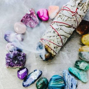 Shop Tumbled Amethyst Crystals & Pocket Stones! 8 pcs Set SMUDGE KIT | White Sage Smudge Stick, Crystal Tumbled Stones, and Purple Amethyst Cluster | Natural genuine stones & crystals in various shapes & sizes. Buy raw cut, tumbled, or polished gemstones for making jewelry or crystal healing energy vibration raising reiki stones. #crystals #gemstones #crystalhealing #crystalsandgemstones #energyhealing #affiliate #ad