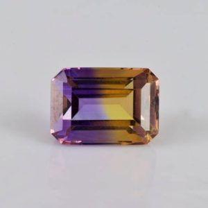 Shop Ametrine Stones & Crystals! 9.31 cts Natural Multi Color Ametrine Faceted Octagon 14x10x8.8 Loose Gemstone – 100% Genuine Ametrine Octagon Gemstone – ATMLT-1005 | Natural genuine stones & crystals in various shapes & sizes. Buy raw cut, tumbled, or polished gemstones for making jewelry or crystal healing energy vibration raising reiki stones. #crystals #gemstones #crystalhealing #crystalsandgemstones #energyhealing #affiliate #ad