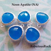2-50 Pc / Gemstone Gem Pendant Charm / Neon Apatite, 16×13 Mm, Gold Or Silver Plated Bezel / Birthstone Wedding Jewelry Supply, Gp1.na Gp Ll | Natural genuine Gemstone jewelry. Buy handcrafted artisan wedding jewelry.  Unique handmade bridal jewelry gift ideas. #jewelry #beadedjewelry #gift #crystaljewelry #shopping #handmadejewelry #wedding #bridal #jewelry #affiliate #ad