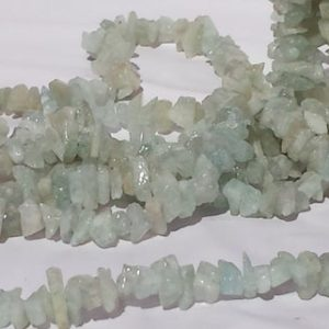 Shop Aquamarine Chip & Nugget Beads! Natural Aquamarine Chunky Gemstone Chip Beads 36 Inch Strand 105 Grams Blue Beryl Chip Beads, Large Size Chunky Light Blue Gemstone Beads | Natural genuine chip Aquamarine beads for beading and jewelry making.  #jewelry #beads #beadedjewelry #diyjewelry #jewelrymaking #beadstore #beading #affiliate #ad