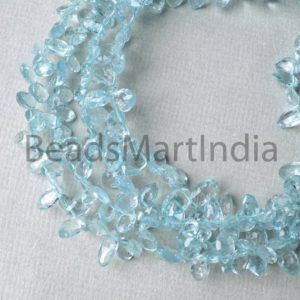Shop Aquamarine Faceted Beads! Aquamarine Faceted Marquise Shape Beads, Aquamarine Faceted Marquise, Aquamarine Beads, Aquamarine Faceted Beads, Marquise Aquamarine Beads | Natural genuine faceted Aquamarine beads for beading and jewelry making.  #jewelry #beads #beadedjewelry #diyjewelry #jewelrymaking #beadstore #beading #affiliate #ad