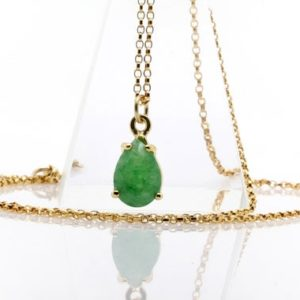 Shop Aventurine Pendants! Green Aventurine necklace,teardrop necklace,gemstone necklace,stone necklace,green pendant,vintage necklace | Natural genuine Aventurine pendants. Buy crystal jewelry, handmade handcrafted artisan jewelry for women.  Unique handmade gift ideas. #jewelry #beadedpendants #beadedjewelry #gift #shopping #handmadejewelry #fashion #style #product #pendants #affiliate #ad