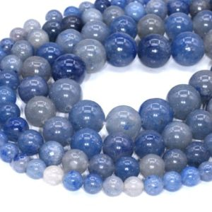 Shop Aventurine Beads! Blue Aventurine Beads Grade AAA Natural Gemstone Round Loose Beads 4MM 6MM 8MM 10MM Bulk Lot Options | Natural genuine beads Aventurine beads for beading and jewelry making.  #jewelry #beads #beadedjewelry #diyjewelry #jewelrymaking #beadstore #beading #affiliate #ad