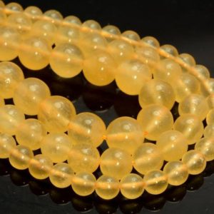 Rare Genuine Yellow Calcite Gemstone Grade Aaa Round 6mm 8mm 10mm Loose Beads (A256) | Natural genuine beads Calcite beads for beading and jewelry making.  #jewelry #beads #beadedjewelry #diyjewelry #jewelrymaking #beadstore #beading #affiliate #ad