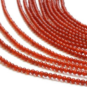 Shop Carnelian Round Beads! Round carnelian beads,natural beads,gemstone beads,smooth beads,ball beads,red beads,jewelry making beads,jewelry supplies,diy beads AA | Natural genuine round Carnelian beads for beading and jewelry making.  #jewelry #beads #beadedjewelry #diyjewelry #jewelrymaking #beadstore #beading #affiliate #ad