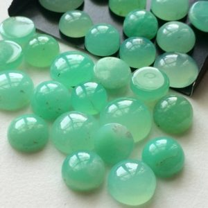 7-14mm Chrysoprase Plain Round Flat Back Cabochons, Chrysoprase Flat Back Cabochons, Loose Chrysoprase For Jewelry 5 Pieces Green Gems | Natural genuine stones & crystals in various shapes & sizes. Buy raw cut, tumbled, or polished gemstones for making jewelry or crystal healing energy vibration raising reiki stones. #crystals #gemstones #crystalhealing #crystalsandgemstones #energyhealing #affiliate #ad