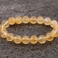 10mm Citrine Bracelet, Citrine Bracelets 10 Mm, Citrine Bracelet, Healing Citrine Bracelet, Citrine Beads, Rhodope Minerals, Gift For Her | Natural genuine Gemstone jewelry. Buy crystal jewelry, handmade handcrafted artisan jewelry for women.  Unique handmade gift ideas. #jewelry #beadedjewelry #beadedjewelry #gift #shopping #handmadejewelry #fashion #style #product #jewelry #affiliate #ad