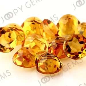 Citrine Rose Cut Cabochon 10mm  Round – per stone | Natural genuine stones & crystals in various shapes & sizes. Buy raw cut, tumbled, or polished gemstones for making jewelry or crystal healing energy vibration raising reiki stones. #crystals #gemstones #crystalhealing #crystalsandgemstones #energyhealing #affiliate #ad