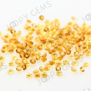 Shop Citrine Cabochons! Citrine Rose Cut Cabochon 2mm Round – 1 Cab | Natural genuine stones & crystals in various shapes & sizes. Buy raw cut, tumbled, or polished gemstones for making jewelry or crystal healing energy vibration raising reiki stones. #crystals #gemstones #crystalhealing #crystalsandgemstones #energyhealing #affiliate #ad