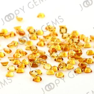 Shop Citrine Cabochons! Citrine Rose Cut Cabochon 4mm Square Cushion – per stone | Natural genuine stones & crystals in various shapes & sizes. Buy raw cut, tumbled, or polished gemstones for making jewelry or crystal healing energy vibration raising reiki stones. #crystals #gemstones #crystalhealing #crystalsandgemstones #energyhealing #affiliate #ad