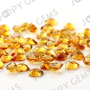 Shop Citrine Cabochons! Citrine Rose Cut Pear Cabochon 8x6mm  – per stone | Natural genuine stones & crystals in various shapes & sizes. Buy raw cut, tumbled, or polished gemstones for making jewelry or crystal healing energy vibration raising reiki stones. #crystals #gemstones #crystalhealing #crystalsandgemstones #energyhealing #affiliate #ad