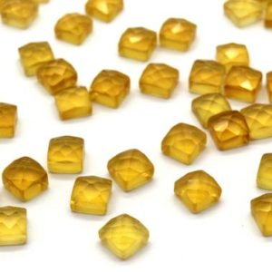 Square Citrine faceted cabochons,square cabochons,square gemstones,Citrine gemstone,gemstone lot,loose stones – AA Quality – 1 Stone | Natural genuine stones & crystals in various shapes & sizes. Buy raw cut, tumbled, or polished gemstones for making jewelry or crystal healing energy vibration raising reiki stones. #crystals #gemstones #crystalhealing #crystalsandgemstones #energyhealing #affiliate #ad
