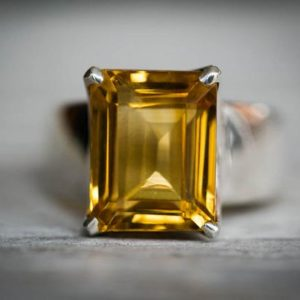 Shop Citrine Rings! Citrine Ring 7.25 – Citrine Ring – Citrine  Ring size 7.25 – november birthstone – Citrine Ring – beautiful citrine sterling silver 7.25 | Natural genuine Citrine rings, simple unique handcrafted gemstone rings. #rings #jewelry #shopping #gift #handmade #fashion #style #affiliate #ad
