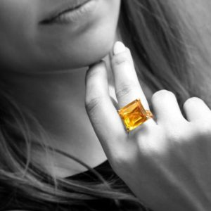 square Citrine ring,November birthstone ring,gemstone ring,14k gold ring,gold filled ring,square ring,bridal ring | Natural genuine Citrine rings, simple unique alternative gemstone engagement rings. #rings #jewelry #bridal #wedding #jewelryaccessories #engagementrings #weddingideas #affiliate #ad