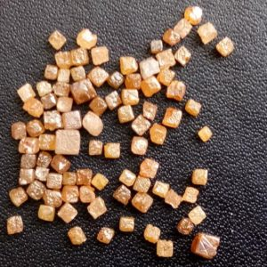 Shop Diamond Bead Shapes! 1 Carat Red Perfect Cube Rough Diamonds, Tiny 1-2mm Undrilled Natural Red Raw Diamond Box Beads, Loose Raw Uncut Diamond Cubes – Puspd108 | Natural genuine other-shape Diamond beads for beading and jewelry making.  #jewelry #beads #beadedjewelry #diyjewelry #jewelrymaking #beadstore #beading #affiliate #ad