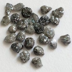 Shop Raw & Rough Diamond Stones! 4-5.5mm Flat Grey Raw Diamond Slice, Beautiful Grey Rough Diamond, Uncut Diamond, Perfect for Bezel and Prong Setting (5Pcs To 10Pcs Option) | Natural genuine stones & crystals in various shapes & sizes. Buy raw cut, tumbled, or polished gemstones for making jewelry or crystal healing energy vibration raising reiki stones. #crystals #gemstones #crystalhealing #crystalsandgemstones #energyhealing #affiliate #ad