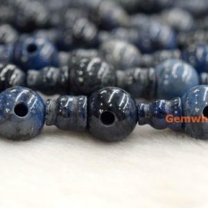 Shop Dumortierite Beads! 5 SETS Natural Africa Blue dumortierite 3 hole beads,T-Beads Set, Guru Beads, Prayer Beads, Mala Making Cones Beads,  big T hole set YGLF | Natural genuine other-shape Dumortierite beads for beading and jewelry making.  #jewelry #beads #beadedjewelry #diyjewelry #jewelrymaking #beadstore #beading #affiliate #ad