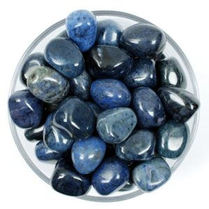 Shop Dumortierite Stones & Crystals! One Dumortierite Tumbled Stone, Dumortierite Tumbled Stones, Zodiac Dumortierite Stones, Healing Dumortierite Stones, Dumortierite Stones | Natural genuine stones & crystals in various shapes & sizes. Buy raw cut, tumbled, or polished gemstones for making jewelry or crystal healing energy vibration raising reiki stones. #crystals #gemstones #crystalhealing #crystalsandgemstones #energyhealing #affiliate #ad