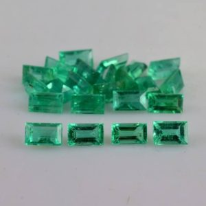 Shop Emerald Stones & Crystals! 3.5x2x2 mm Natural Emerald Faceted Baguette AA Grade Loose Gemstone – 100% Natural Brazilian Emerald Gemstone – Emerald Jewelry -EMGRN-1639 | Natural genuine stones & crystals in various shapes & sizes. Buy raw cut, tumbled, or polished gemstones for making jewelry or crystal healing energy vibration raising reiki stones. #crystals #gemstones #crystalhealing #crystalsandgemstones #energyhealing #affiliate #ad