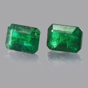Shop Emerald Stones & Crystals! 5.18 cts Natural Green Emerald Faceted Octagon 10x8x3.7 mm 2 Pieces Loose Gemstone – 100% Natural Green Emerald Gemstone – EMGRN-1061 | Natural genuine stones & crystals in various shapes & sizes. Buy raw cut, tumbled, or polished gemstones for making jewelry or crystal healing energy vibration raising reiki stones. #crystals #gemstones #crystalhealing #crystalsandgemstones #energyhealing #affiliate #ad