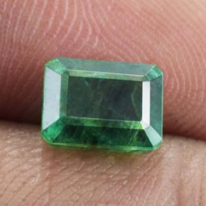 Shop Emerald Stones & Crystals! Natural Emerald Faceted Cut Octagon 8.2×6.2×4.9 mm 1 pc 2.08 cts Loose Gemstone – 100% Natural Green Emerald Jewelry Gemstone – EMGRN-1144 | Natural genuine stones & crystals in various shapes & sizes. Buy raw cut, tumbled, or polished gemstones for making jewelry or crystal healing energy vibration raising reiki stones. #crystals #gemstones #crystalhealing #crystalsandgemstones #energyhealing #affiliate #ad