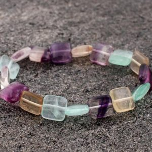 Shop Fluorite Bracelets! Rainbow Fluorite Bracelet, Purple fluorite Bracelets , Healing Fluorite Bracelets, Fluorite Bead Bracelet, Fluorite Crystals, Gift For Her, | Natural genuine Fluorite bracelets. Buy crystal jewelry, handmade handcrafted artisan jewelry for women.  Unique handmade gift ideas. #jewelry #beadedbracelets #beadedjewelry #gift #shopping #handmadejewelry #fashion #style #product #bracelets #affiliate #ad