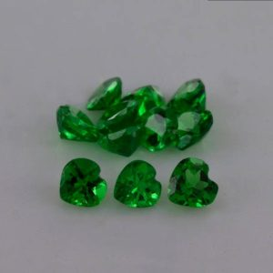 Shop Garnet Shapes! 3x3x1.7 mm Natural Green Tsavorite Garnet Faceted Heart AAA+ Grade Loose Gemstone – 100% Natural Green Tsavorite Garnet Gemstone -TSGRN-1074 | Natural genuine stones & crystals in various shapes & sizes. Buy raw cut, tumbled, or polished gemstones for making jewelry or crystal healing energy vibration raising reiki stones. #crystals #gemstones #crystalhealing #crystalsandgemstones #energyhealing #affiliate #ad
