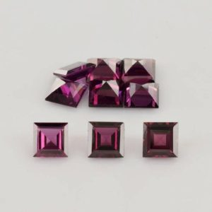 Shop Garnet Shapes! 6x6x3.4 mm Natural Rhodolite Garnet Faceted Cut Square AAA Grade Loose Gemstone – 100% Natural Rhodolite Garnet Gemstone – ROPRP-1090 | Natural genuine stones & crystals in various shapes & sizes. Buy raw cut, tumbled, or polished gemstones for making jewelry or crystal healing energy vibration raising reiki stones. #crystals #gemstones #crystalhealing #crystalsandgemstones #energyhealing #affiliate #ad