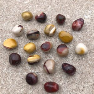 Shop Jasper Shapes! Mookite jasper pebbles- WS7143 | Natural genuine stones & crystals in various shapes & sizes. Buy raw cut, tumbled, or polished gemstones for making jewelry or crystal healing energy vibration raising reiki stones. #crystals #gemstones #crystalhealing #crystalsandgemstones #energyhealing #affiliate #ad