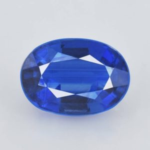 Shop Kyanite Shapes! Natural Kyanite 7x5x3.4 Mm Faceted Cut Oval 1 Piece 1.12 Cts Loose Gemstone – 100% Genuine Natural Blue Kyanite Gemstone – Kyblu-1110 | Natural genuine stones & crystals in various shapes & sizes. Buy raw cut, tumbled, or polished gemstones for making jewelry or crystal healing energy vibration raising reiki stones. #crystals #gemstones #crystalhealing #crystalsandgemstones #energyhealing #affiliate #ad